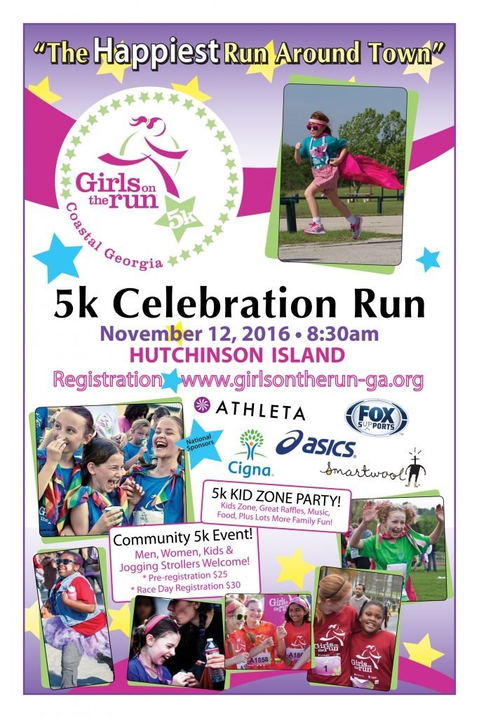 5K Celebration Run Flyer