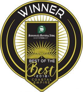 Savannah Morning News Best of the Best 2018 Coastal Empire